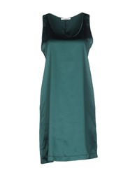 Aglini Dresses Short Dresses Women Green