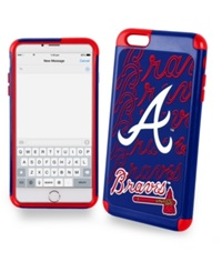 Forever Collectibles Atlanta Braves Iphone 6 Plus Case Navy