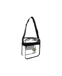 Little Earth New Orleans Saints Carryall Bag Clear