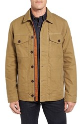 Timberland Men's Mt. Davis Waxed Canvas Chore Jacket