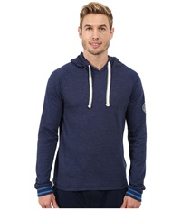 Kenneth Cole Reaction Sleep Hoodie Medieval Blue Men's Pajama Navy