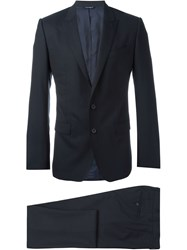 Dolce And Gabbana Two Piece Suit Black