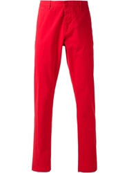 Ami Alexandre Mattiussi Slim Fit Chinos Red