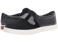 Dr. Scholl's Scout Strap Original Collection Black Suede Leather Women's Shoes