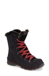 Women's Santana Canada 'Massima' Waterproof Boot Black Leather