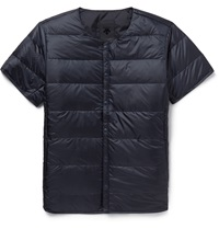 Descente H.C.S Quilted Shell Down Jacket Blue