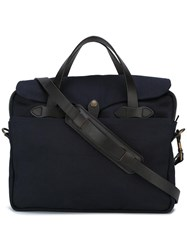 Filson 'Original' Briefcase Blue