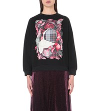 Christopher Kane Macbeth Cotton Sweatshirt Tartan