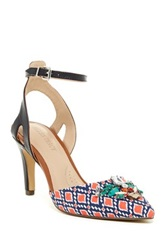 Ellen Tracy Prom Ankle Strap Pump Multi