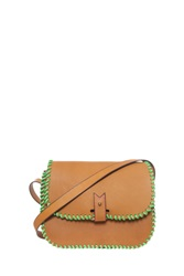 La Contrie Leather Cross Body Bag Brown