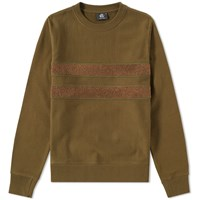 Paul Smith Loopback Tape Crew Sweat Green