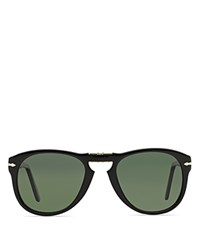 Persol Folding Keyhole Sunglasses Black
