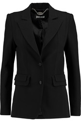Just Cavalli Paneled Crepe Blazer