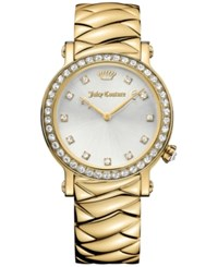 Juicy Couture Women's La Luxe Gold Tone Stainless Steel Bracelet Watch 36Mm 1901488