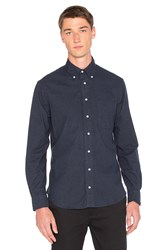 Gitman Brothers Vintage Flannel Button Down Navy