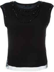 Diesel Double Layer Top Black