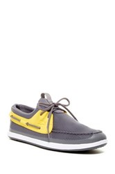 Lacoste L.Andsailing 116 Boat Shoe Gray