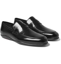 Harry's Of London Downing 2 Glossed Leather Loafers Black