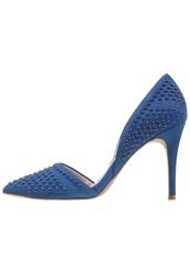 French Connection Ellis High Heels Empire Blue Royal Blue