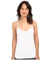 Yummie Tummie Parker Seamlessly Shaped Cotton Everyday V Neck Camisole White Women's Sleeveless