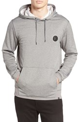 Hurley Men's Disperse Dri Fit Hoodie Heather Grey