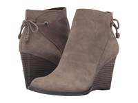 Lucky Brand Yamina Brindle Oil Suede Women's Boots Olive