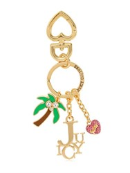 Juicy Couture Shuffled Juicy Charm Key Holder