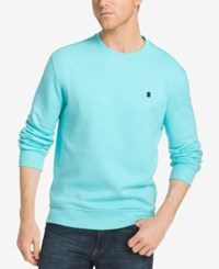 Izod Men's Advantage Performance Sweatshirt Blue Radiance
