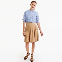 J.Crew Collection Suede Mini Skirt