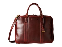 Frye David Brief Cinnamon Smooth Pull Up Briefcase Bags Red
