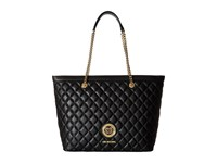 Love Moschino Quilted Classic Chain Strap Tote Black