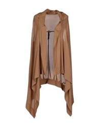 Manila Grace Cardigans Brown