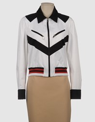 Roccobarocco Coats And Jackets Jackets Women White