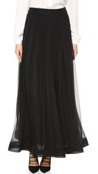 Moschino Long Skirt Black