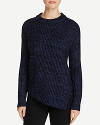Rd Style Asymmetric Turtleneck Sweater Compare At 85 Twilight Night