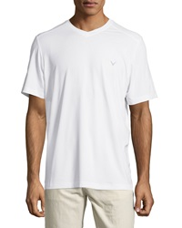 Callaway Short Sleeve V Neck Tee Bright White