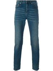 Neil Barrett Super Skinny Jeans Blue