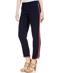 Tommy Hilfiger Drapey Pipe Trim Athletic Pants