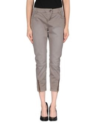Only 4 Stylish Girls By Patrizia Pepe Casual Pants Dove Grey