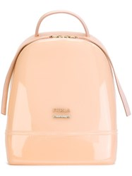 Furla Branded Backpack Nude And Neutrals