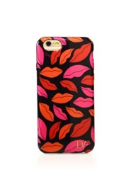 Diane Von Furstenberg Lip Motif Iphone 6 Case Red Multi