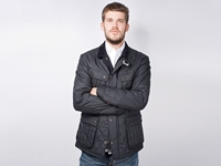 Firmament Barbour Beacon Heritage Motor Bike Quilt Jacket