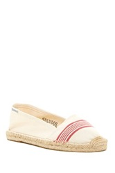 Soludos Canvas Low Cut Slip On Beige
