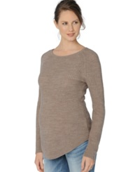 A Pea In The Pod Maternity Scoop Neck Sweater