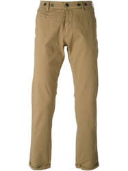 Barena Button Detail Chino Trousers