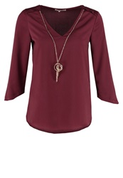 Anna Field Blouse Bordeaux