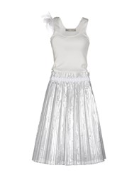 Veronique Branquinho Dresses 3 4 Length Dresses Women White