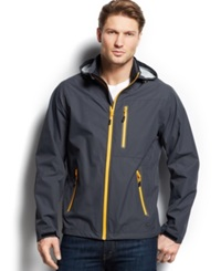Hawke And Co. Outfitter Waterproof Hipster Hooded Jacket Graphite