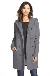 Women's James Perse Double Breasted Hoodie Coat