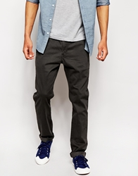 Lee Chinos Slim Fit Brushed Sateen Pirateblack